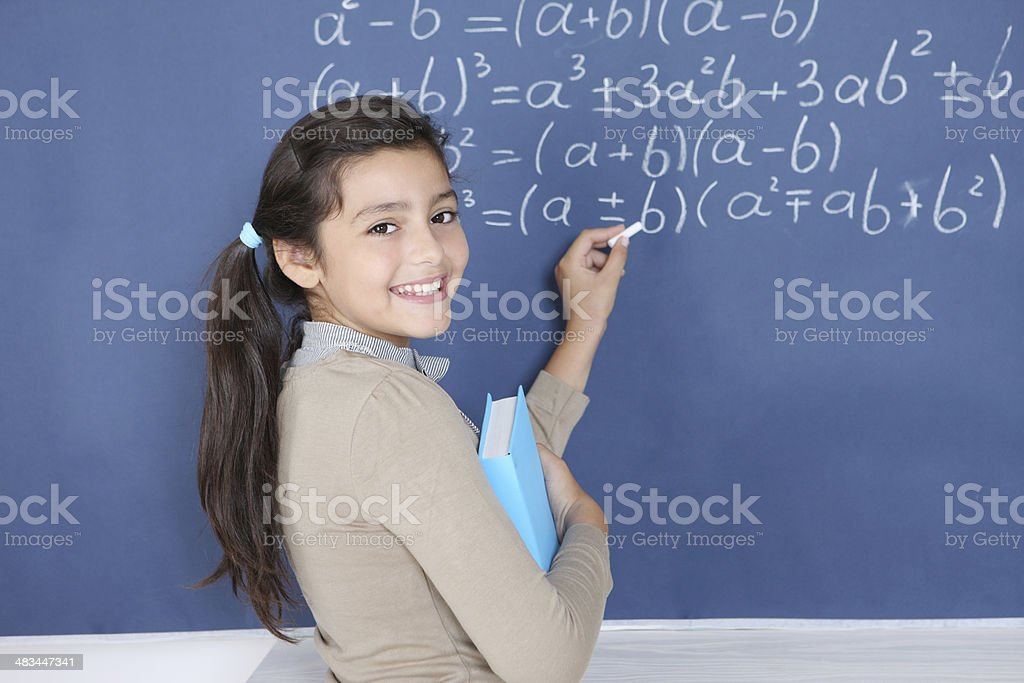 Lesson royalty-free stock photo