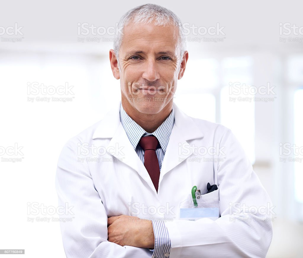 Let him help you get healthy stock photo