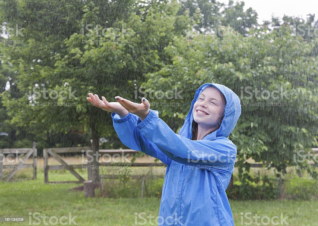 Let it Rain royalty-free stock photo