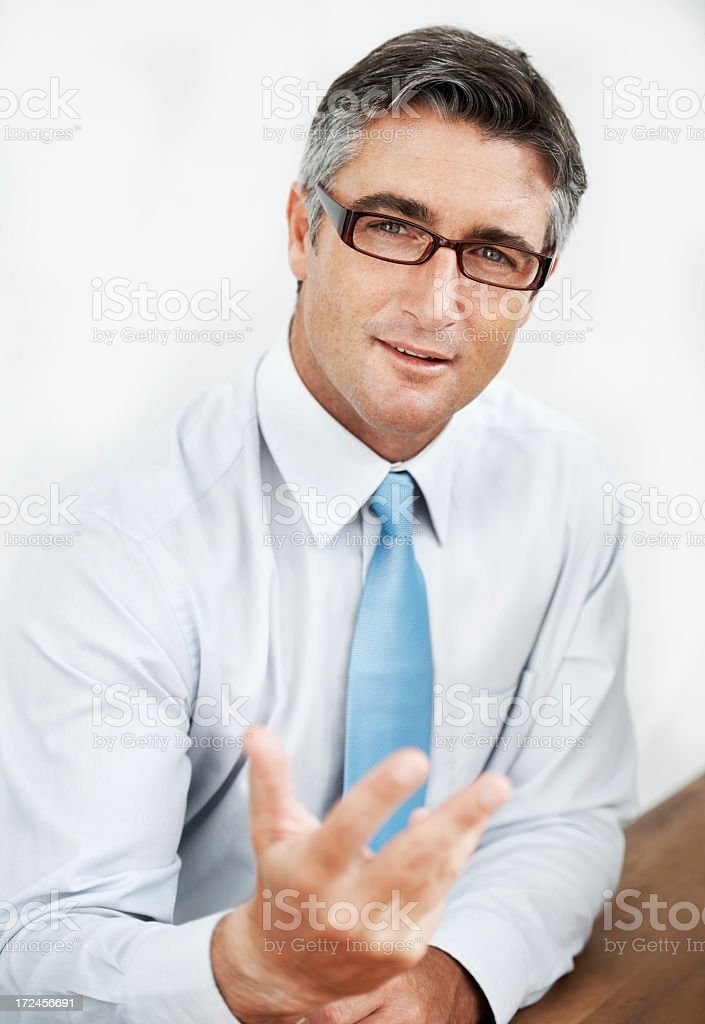 Let me give you some business advice... royalty-free stock photo