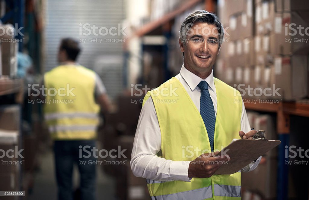 Let me handle your shipping requirements stock photo