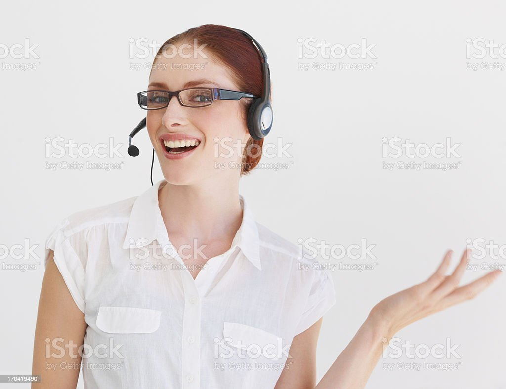 Let me help you royalty-free stock photo