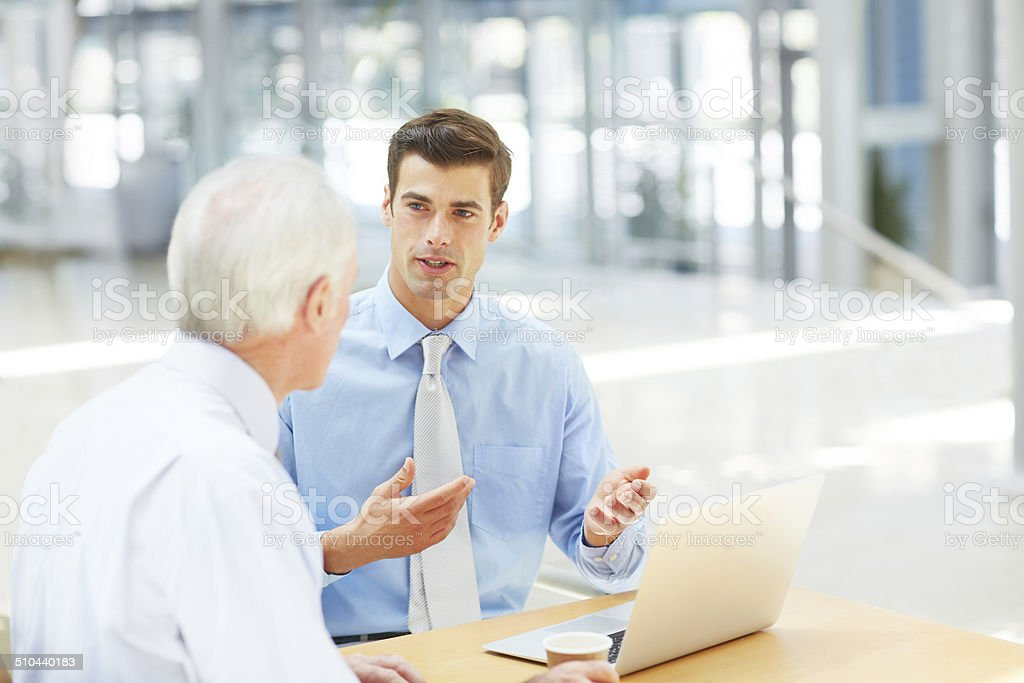 Let me learn from your experience stock photo