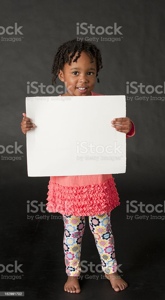 Let me show you something. royalty-free stock photo