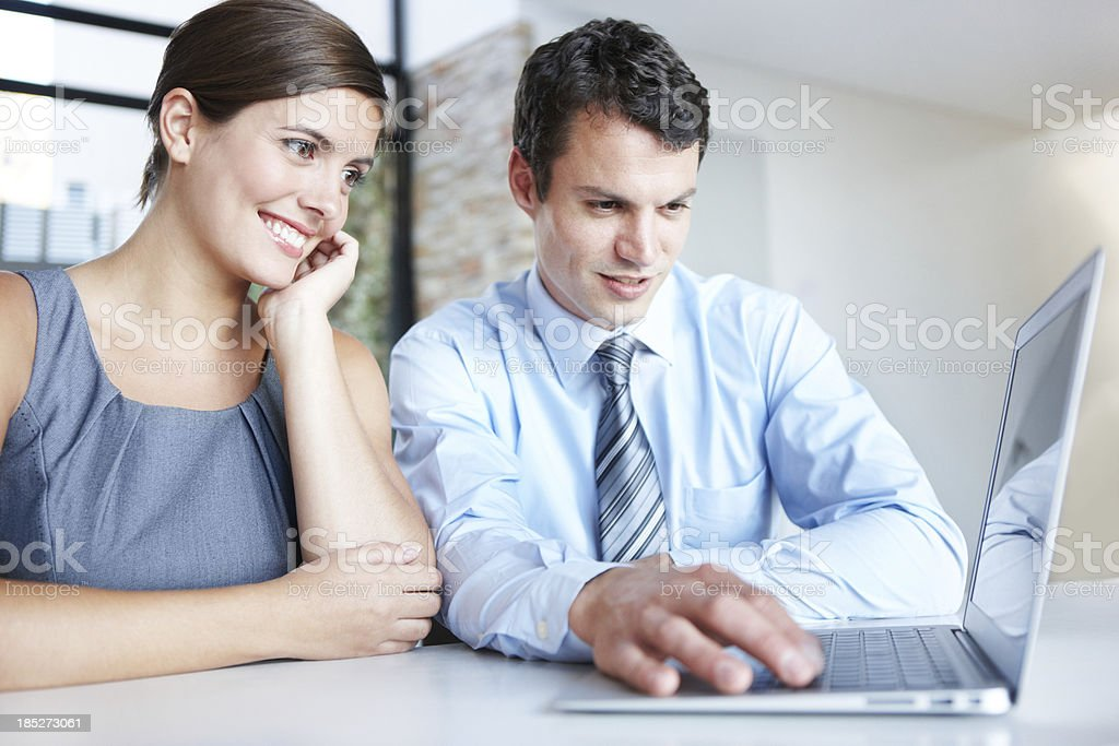 Let me show you something royalty-free stock photo
