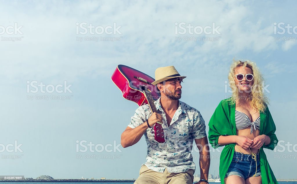 Let me sing a song for you! stock photo