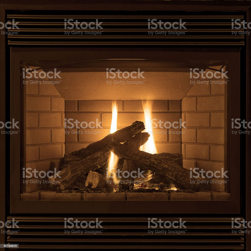 Let me sit next to your fire royalty-free stock photo