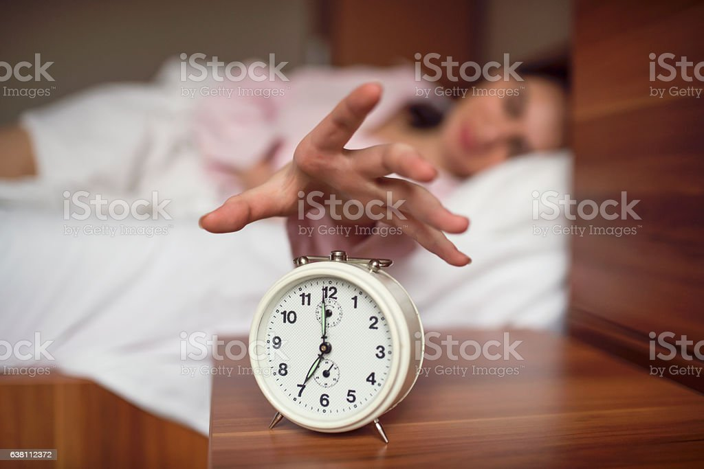 Let me sleep a little more stock photo