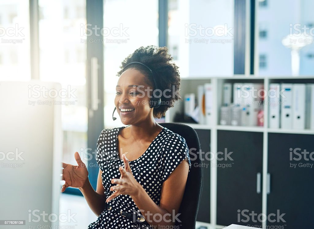 Let me talk you step by step through the process... stock photo