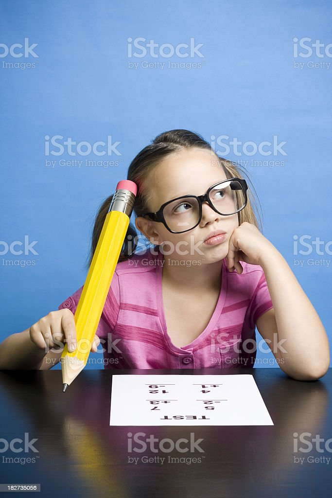 Let Me Think … stock photo