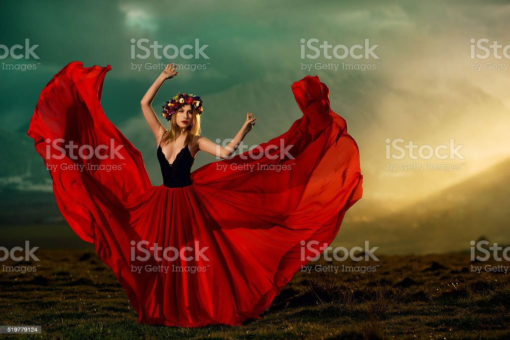 let my feelings fly away stock photo