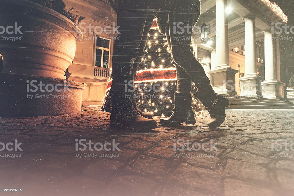 Let spend Holidays together stock photo