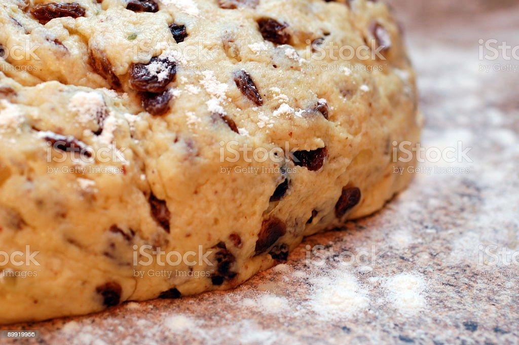 Let the dough rise stock photo