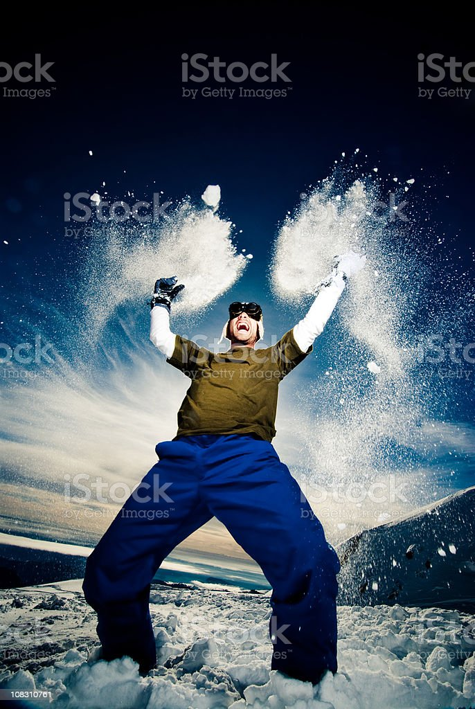 Let the fun begins royalty-free stock photo