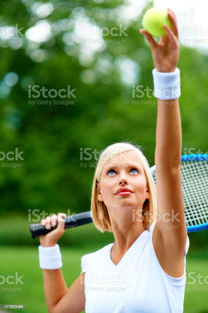 Let the game begin... royalty-free stock photo