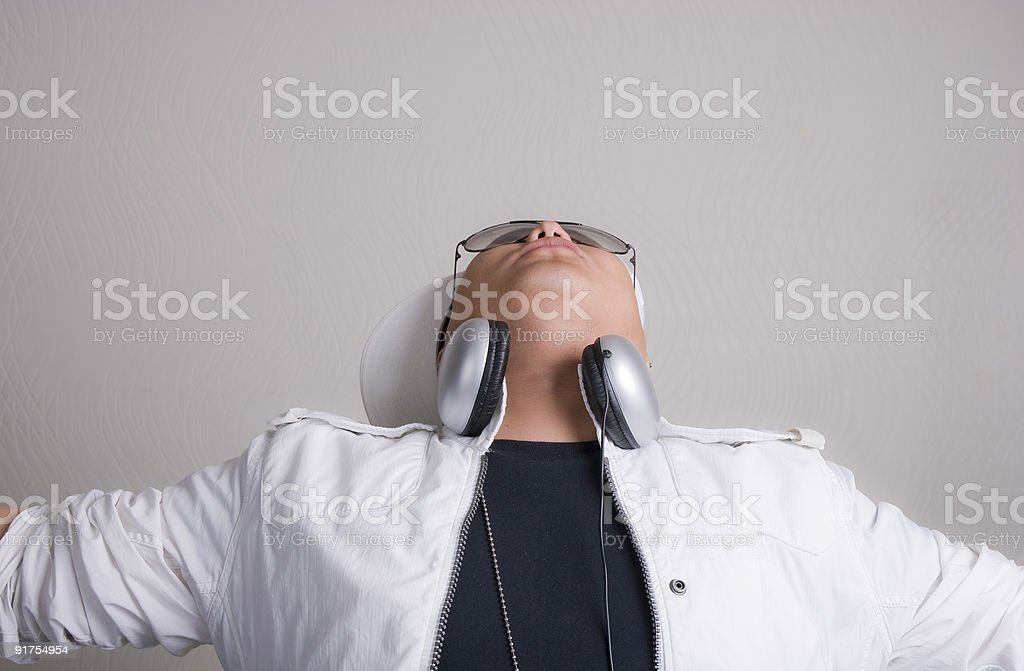 Let the party go on stock photo