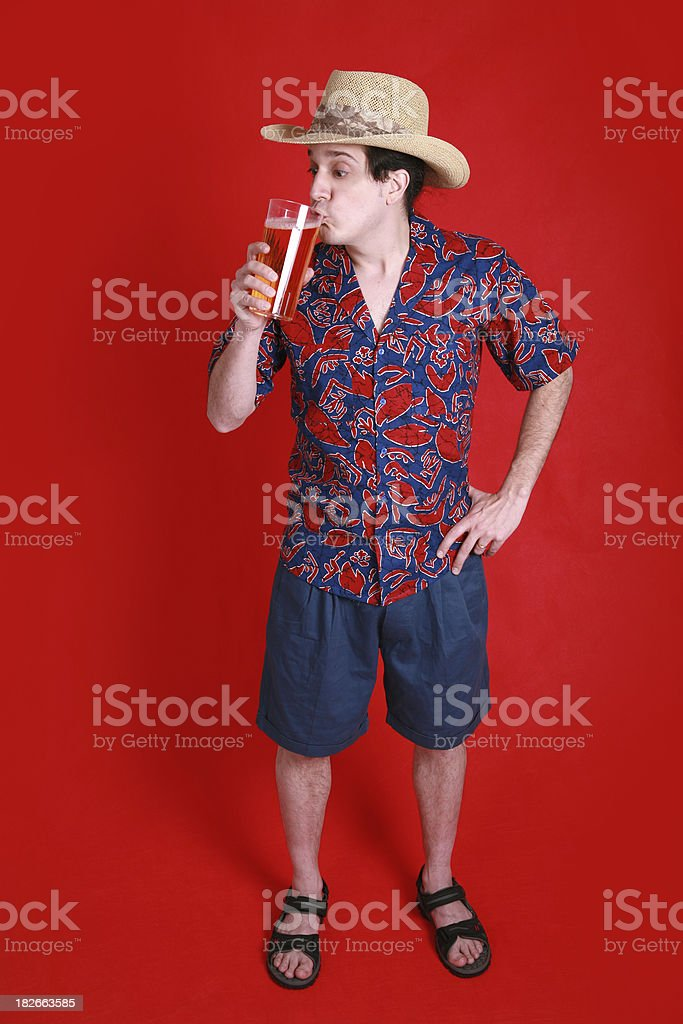 Let The Vacation Begin royalty-free stock photo