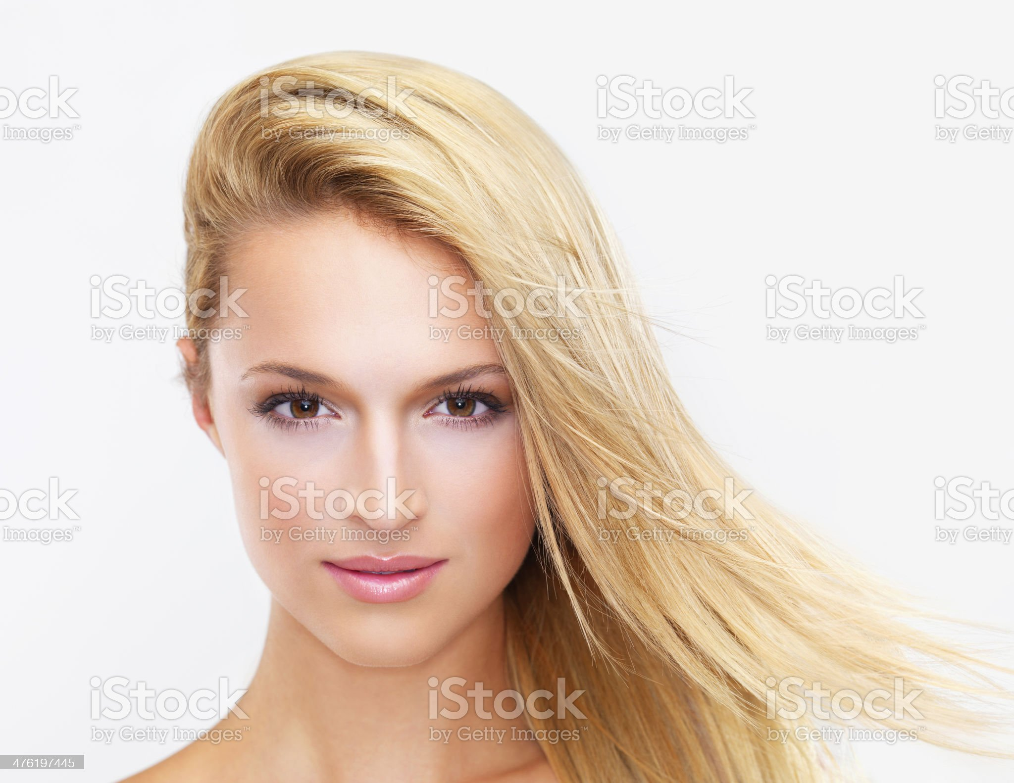 Let this gaze captivate you royalty-free stock photo