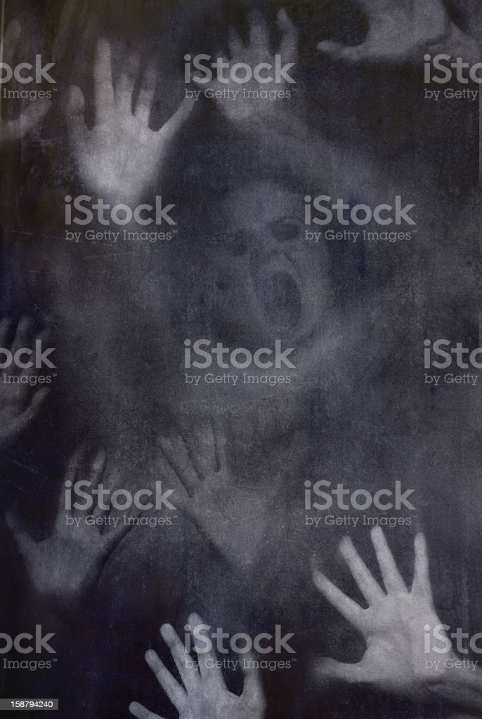 Let us in stock photo
