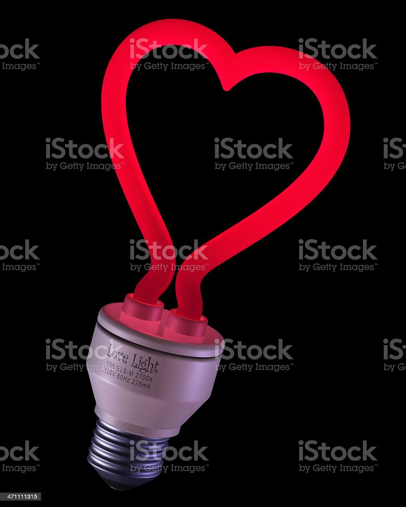 Let Your Love Light Shine royalty-free stock photo