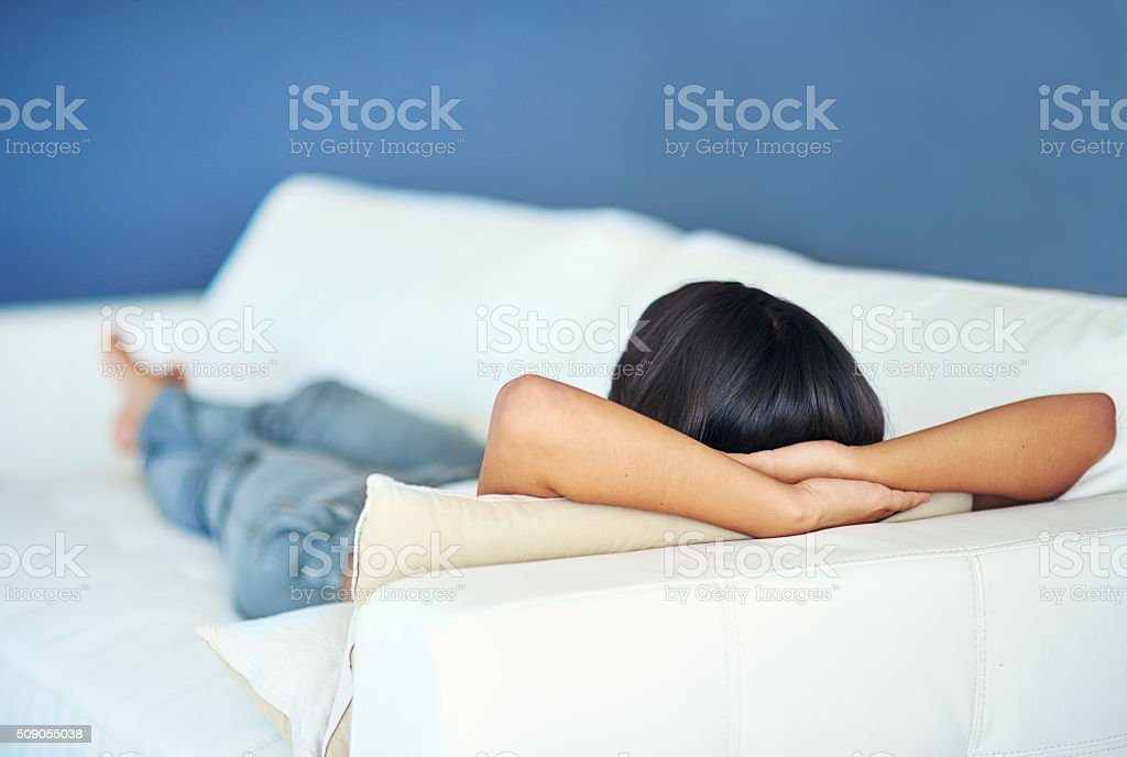 Let yourself rest stock photo