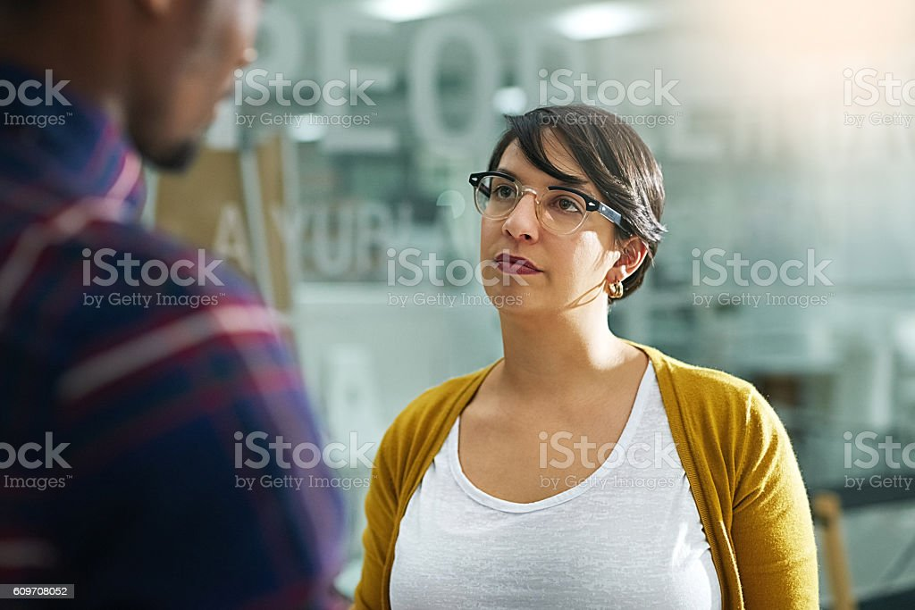 Let's agree to disagree stock photo