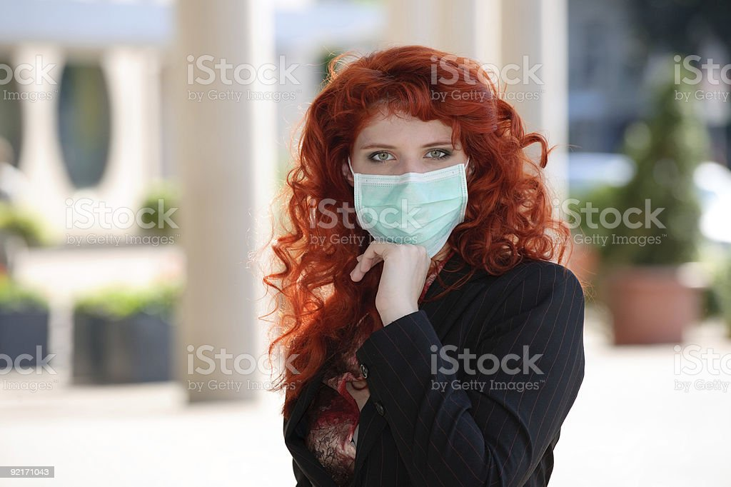 Let's beat the infection! royalty-free stock photo