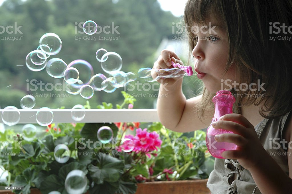 Let's blow magic royalty-free stock photo