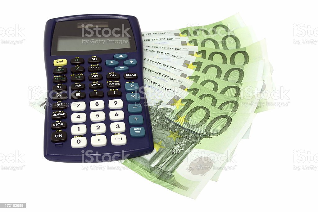 Let's calculate! (2) royalty-free stock photo