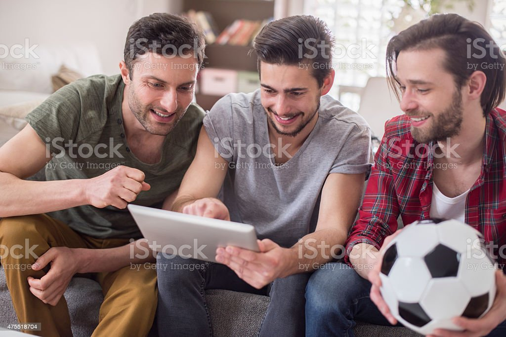 Let's check results of the last match stock photo