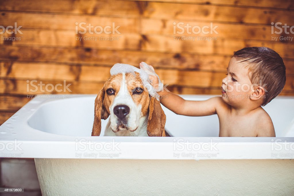 Let's clean you up stock photo