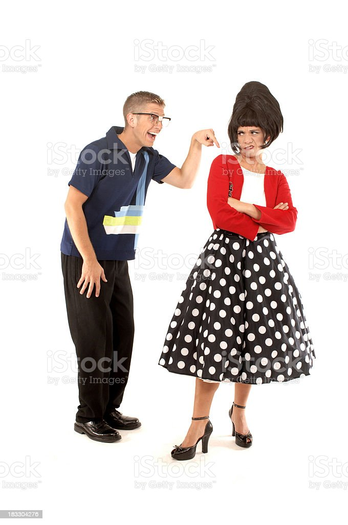 Let's dance again royalty-free stock photo