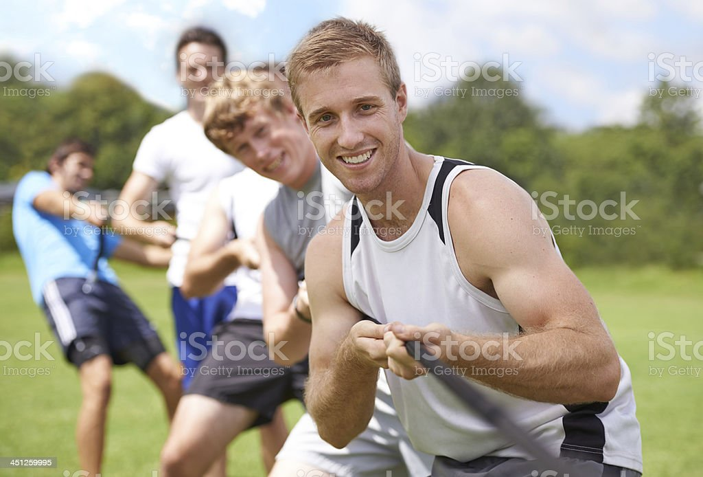 Let's do it together! stock photo