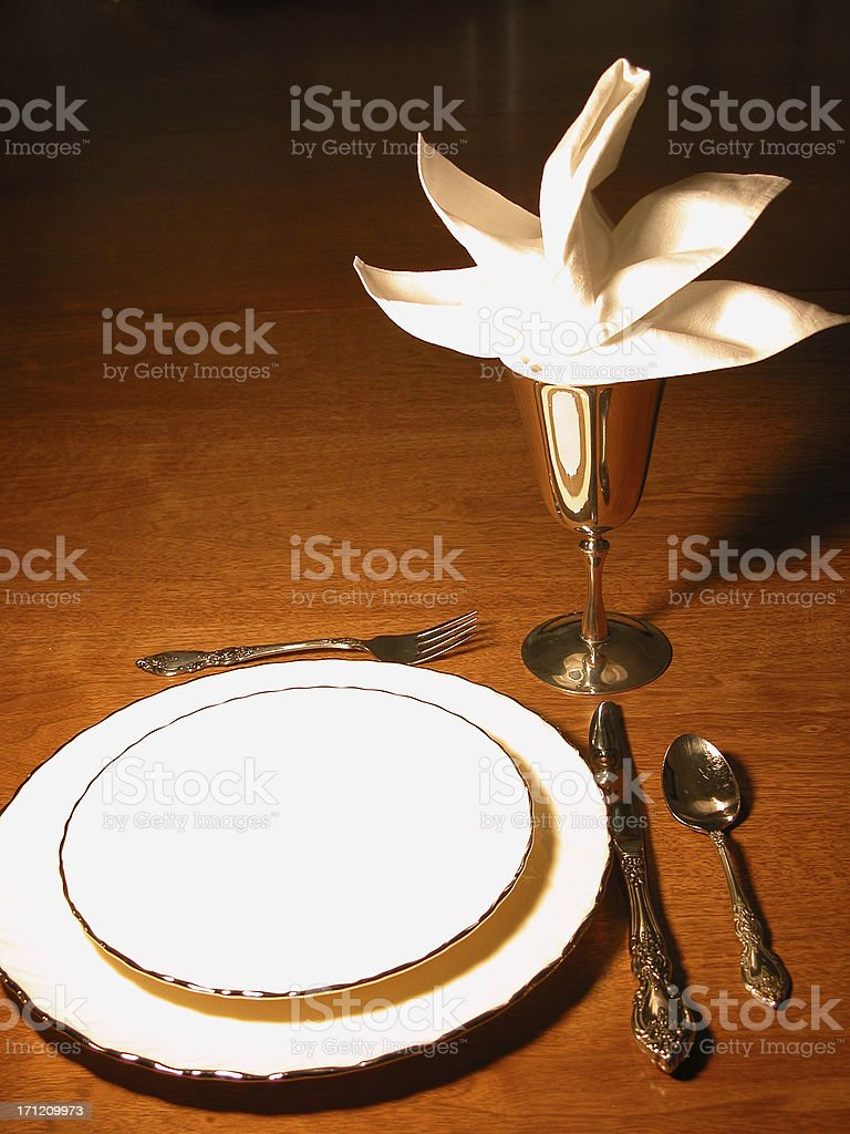 Let's Eat royalty-free stock photo