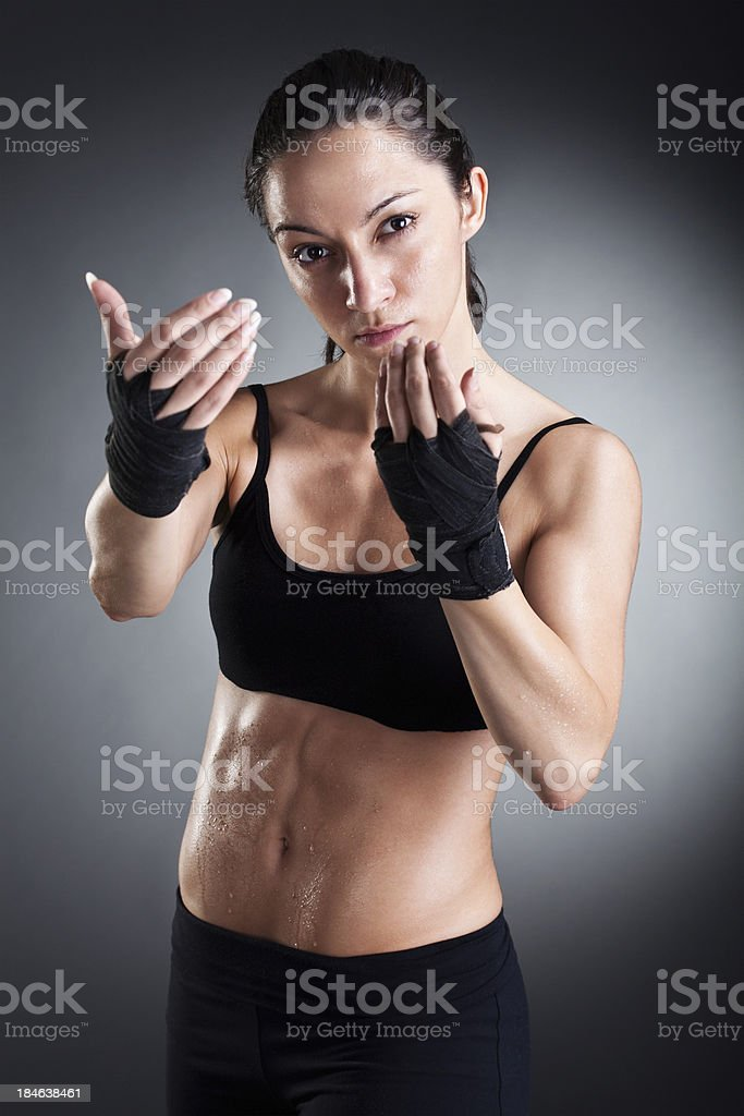 Let's fight royalty-free stock photo