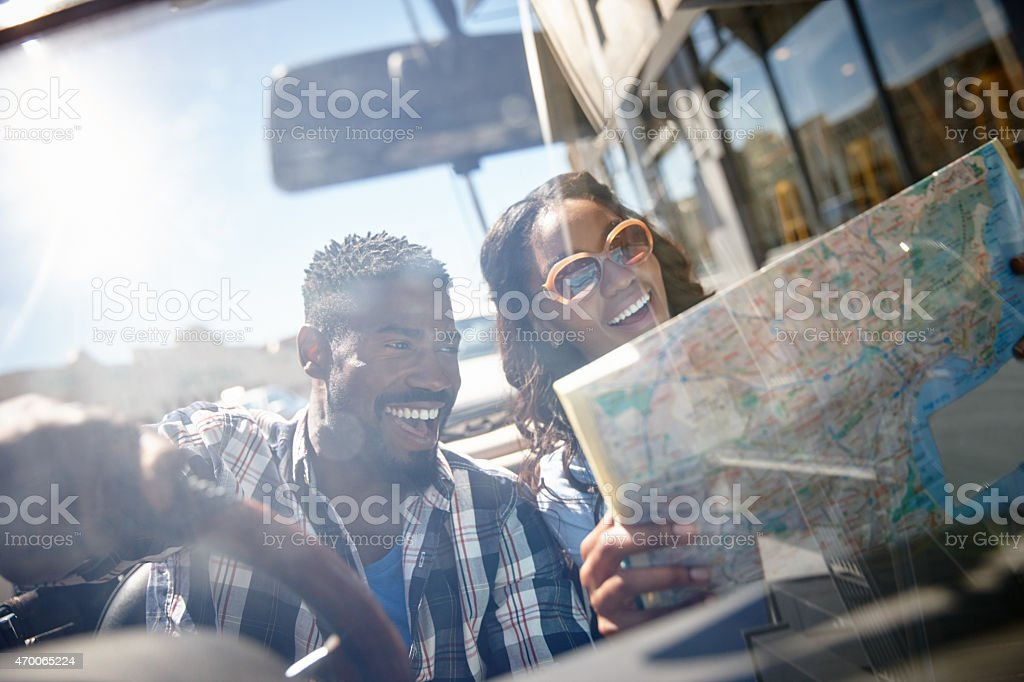 Let's find a beautiful place to get lost stock photo