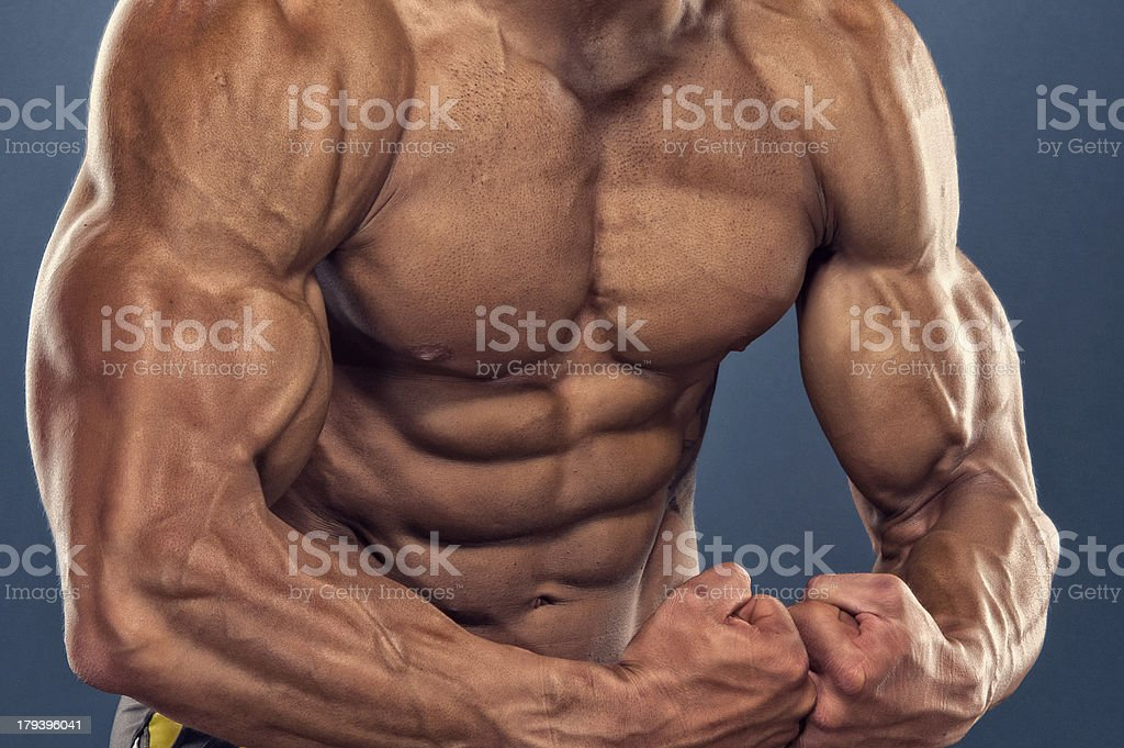 Let`s Flex royalty-free stock photo