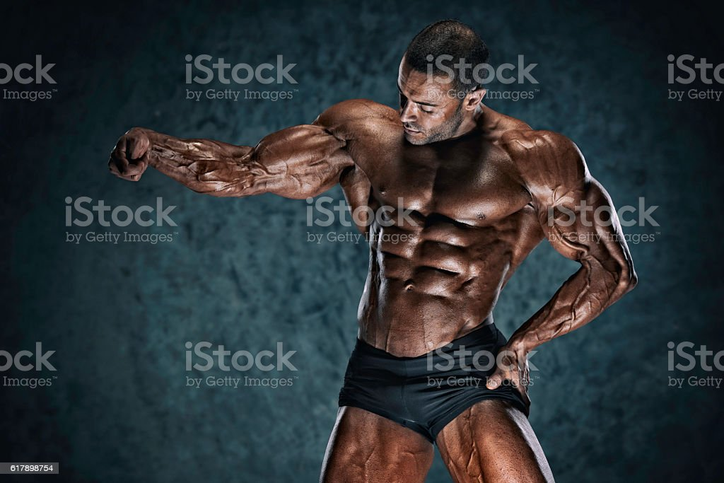 Let`s Flex stock photo