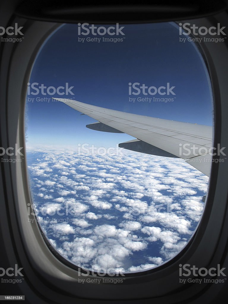 Lets fly into blue sky royalty-free stock photo