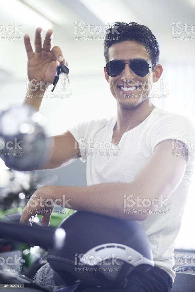 Let's get out of here stock photo