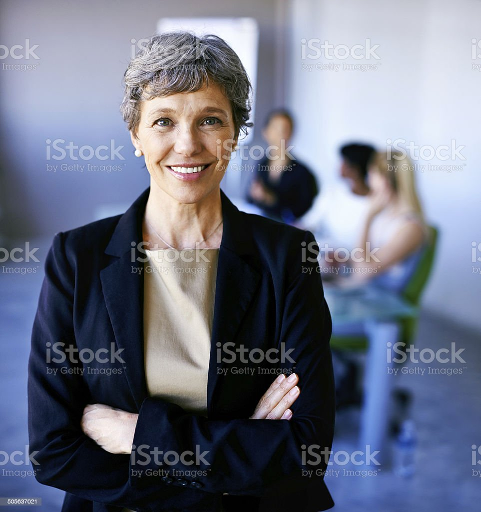 Let's get successful! stock photo