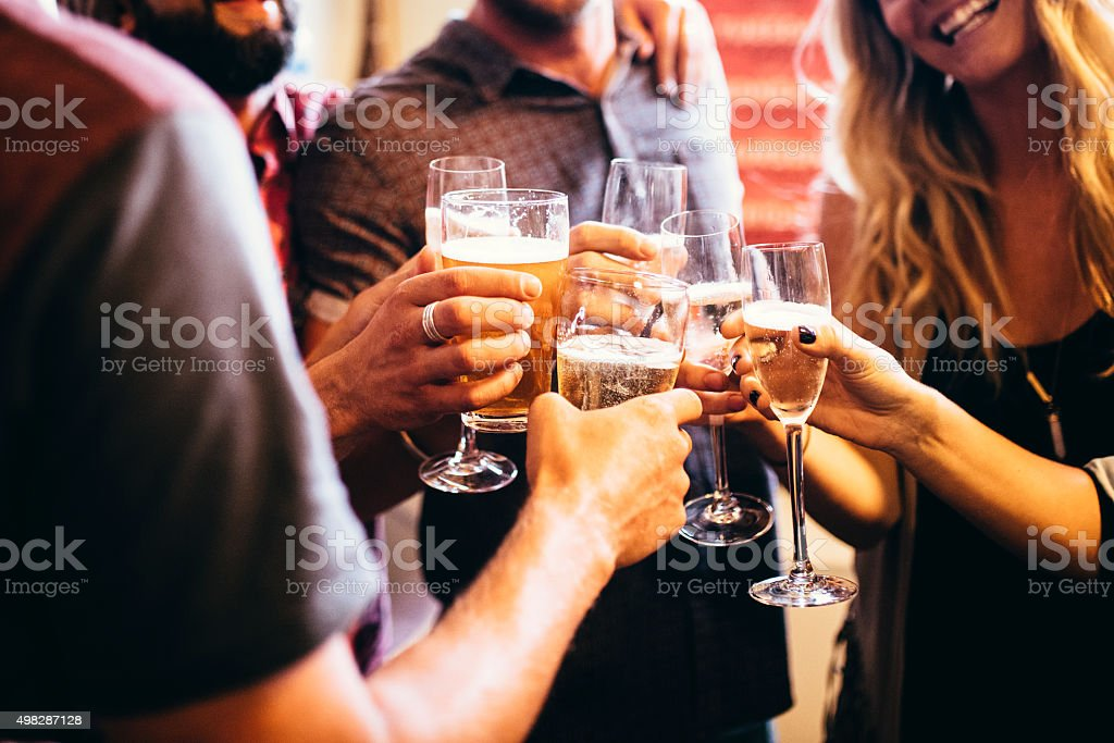 Let's get this party started! stock photo