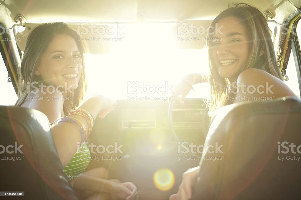 Let's get this roadtrip started! royalty-free stock photo