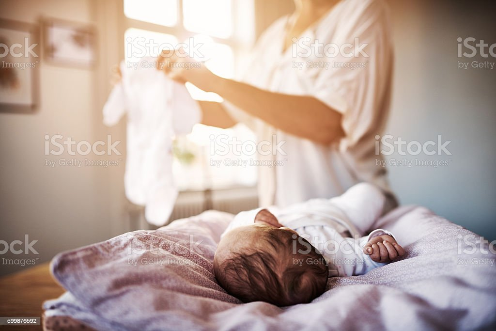 Let's get you ready for the day stock photo