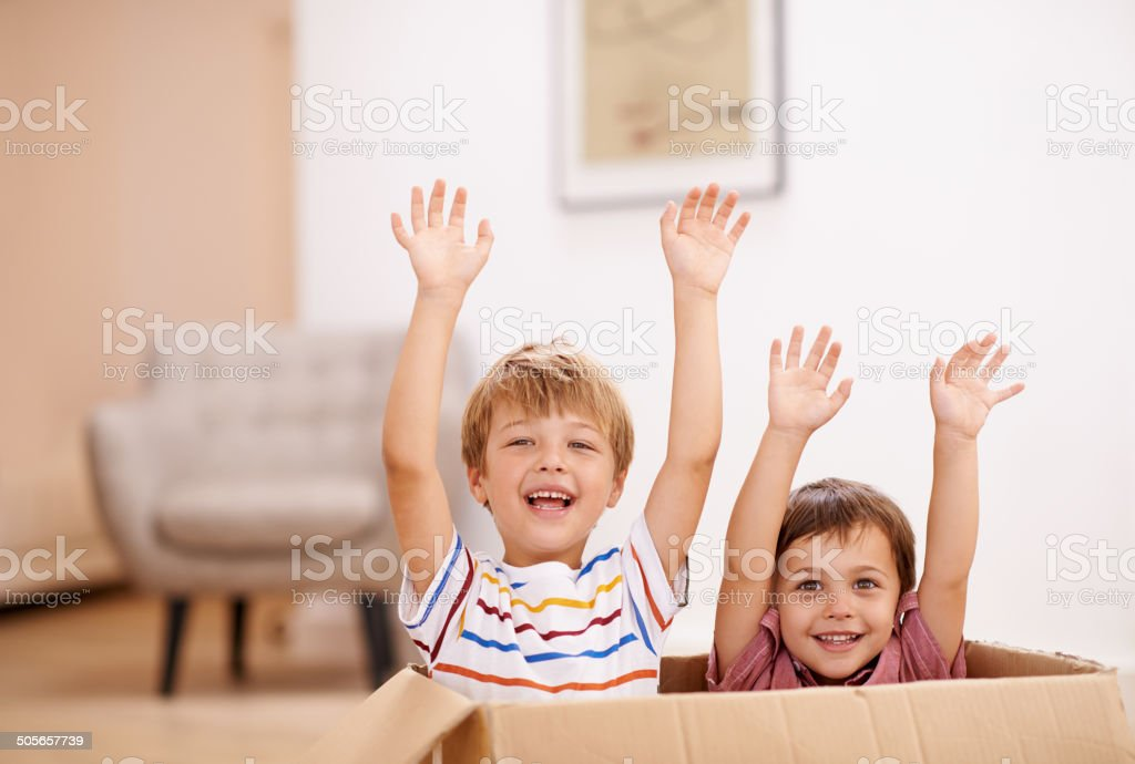 Let's give mom the best present stock photo