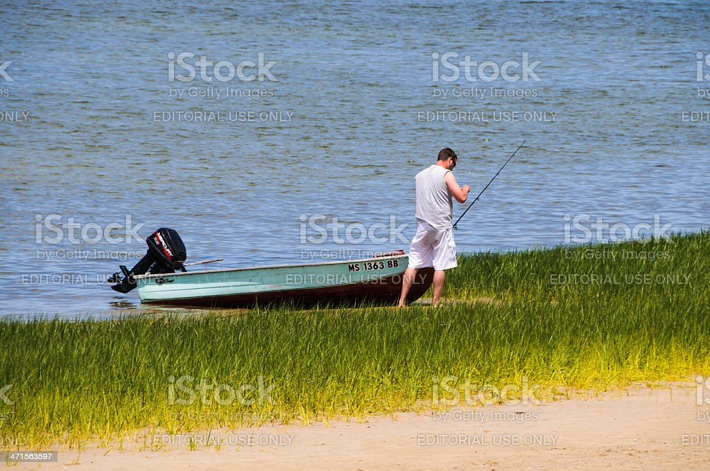 Let's Go Fishing royalty-free stock photo