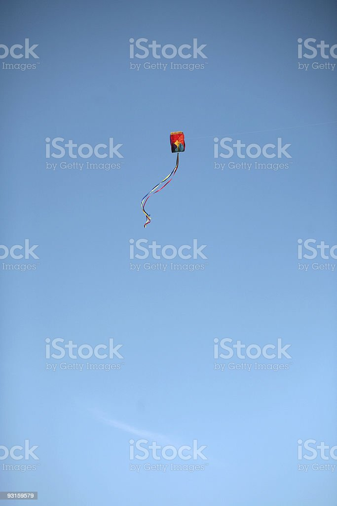 Let's Go Fly a Kite! stock photo