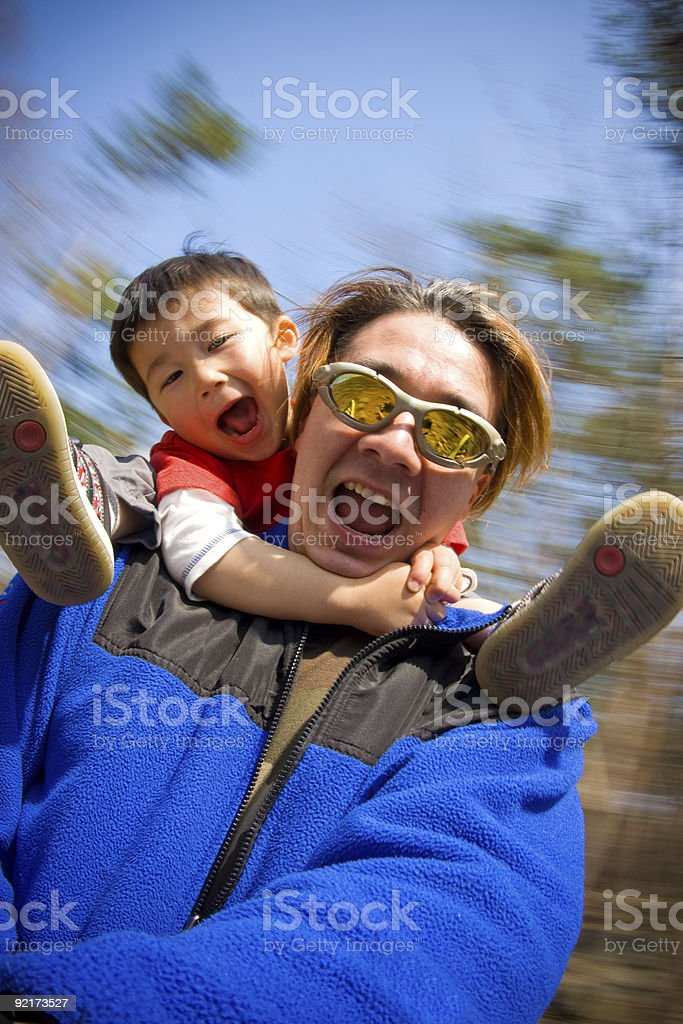Lets go for a spin royalty-free stock photo
