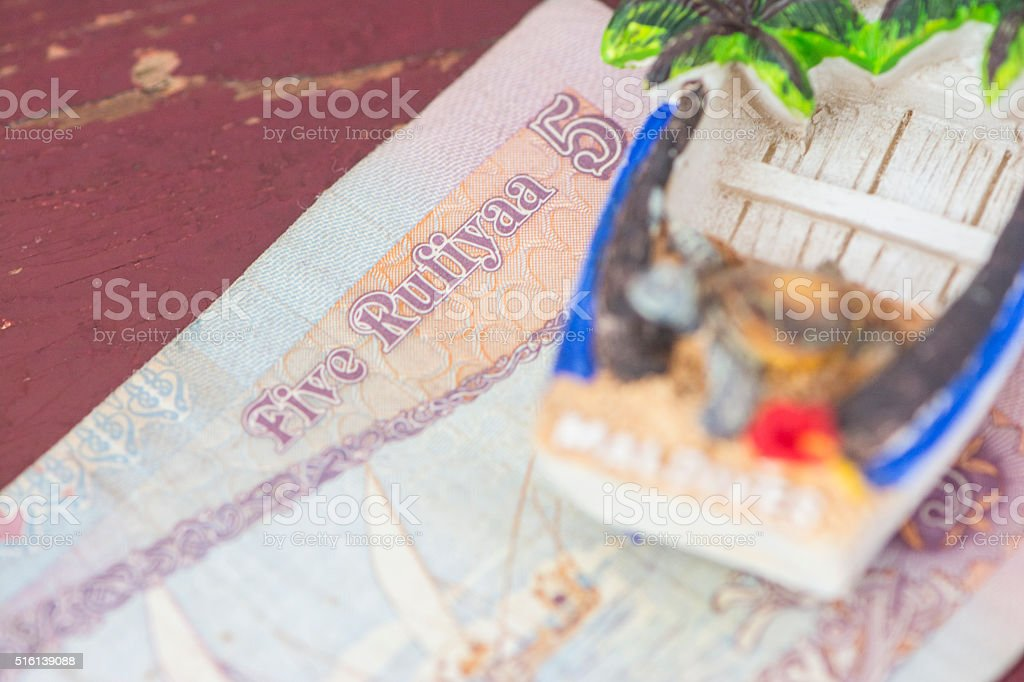 Let's go Maldives stock photo