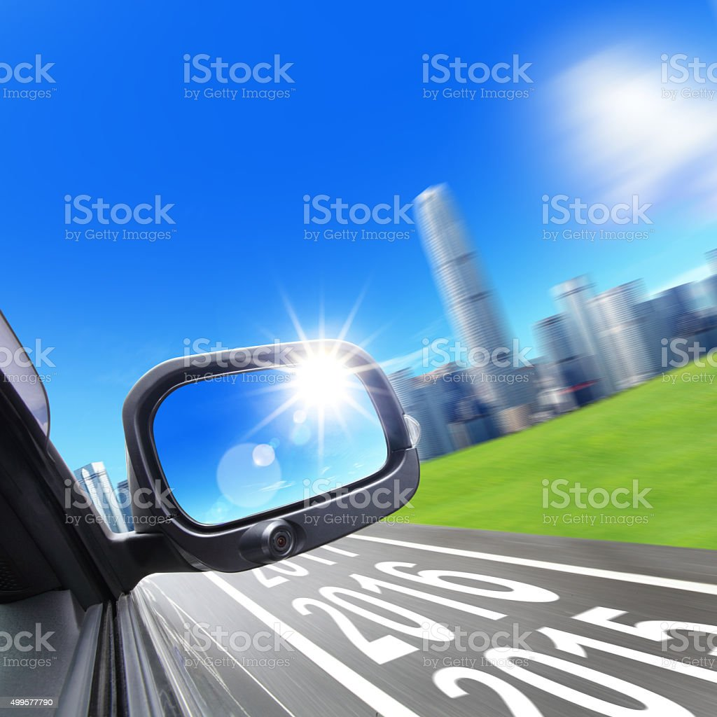 Lets go new year 2016 stock photo